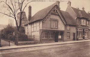 CHRISTCHURCH, UK, 1900-1910´s; The Old Court House