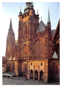 Czech R. Praha Katedrala sv. Vita Cathedral Prague