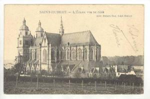 Saint-Hubert , Belgium, 00-10s   L'Eglise vue de Cote