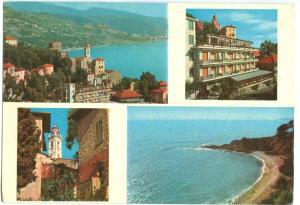 Italy, HOTEL EDEN, LA MORTOLA, Riviera dei Fiori, 1960s used Postcard