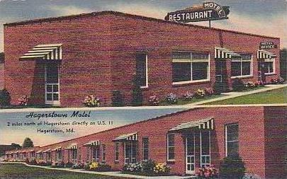 Maryland Hagerstown The Hagerstown Motel and Resturant