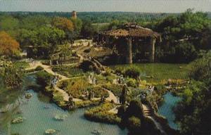 Texas San Antonio San Antonios Sunken Garden Has Won Almost World Renown For ...