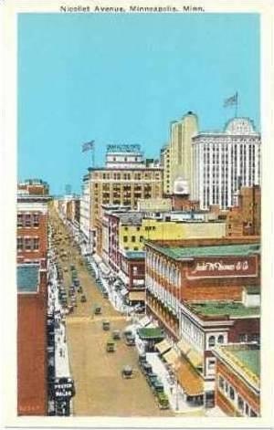 Nicollet Avenue, Minneapolis, Minnesota, 1910-20s