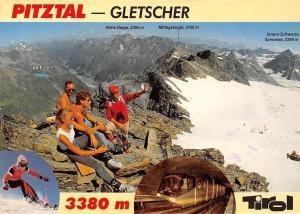 St. Leonhard Mittelberg, Pitztal Gletscherbahn Tourists Rifflsee Panorama