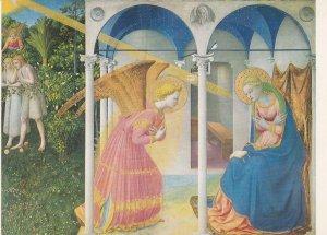 POSTAL B8525: FRA ANGELICO: LA ANUNCIACION