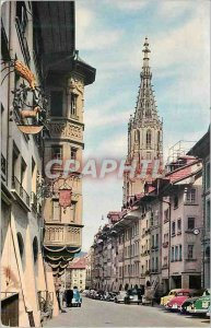 Modern Postcard Bern Keblergasse put Munster