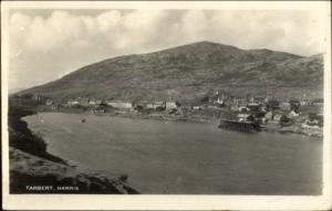 Tarbert Harris Scotland Real Photo Postcard