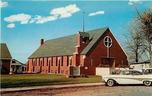 IN, North Webster, Indiana, Church of God, L.L.  Cook No.