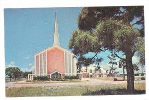 Exterior, First Presbyterian Church, Pompano Beach, Florida, 40-60s