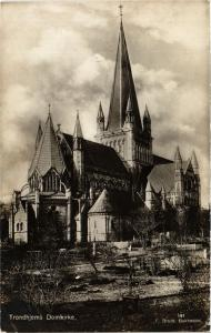CPA NORWAY-Trondhjems Domkirke (332176)