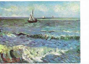 Seascape  1888 Vincent Van Gogh    4 by 6