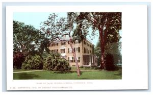 Postcard Home of James Russell Lowell, Cambridge, MA D29