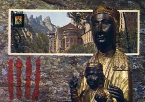 POSTAL 57364: Montserrat La Verge de Montserrat