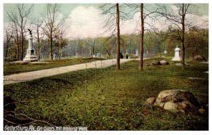 Pennsylvania Gettysburg On Culp's Hill looking West