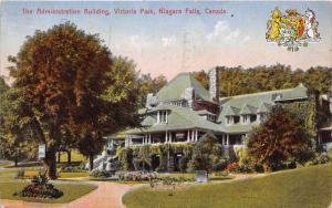 6284 Canada,Niagra Falls, Park  Victoria,   The Administration Building