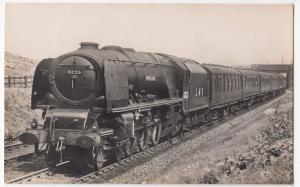 Railway; Up 'Royal Scot' Nr Thrimby, Headed By 'Princess Alice' No 6223 RP PPC