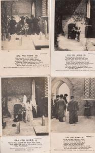 Ora Pro Nobis 4x Antique Songcard Postcard s