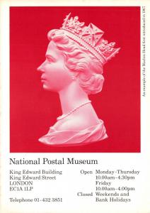 Postal History Postcard, The National Postal Museum, Machin Head V57