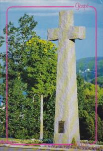 Canada Granite Cross Christ-Roi Cathedral Gaspe Quebec