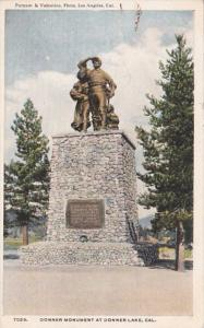 California Donner Lake Donner Monument Curteich