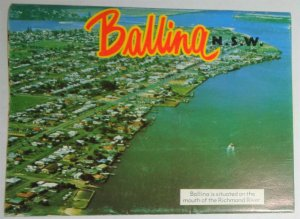 AUSTRALIA, Ballina Postcard Folder, Booklet 10 Views See Photos