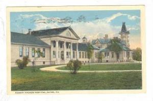 Robert Packer Hospital, Sayre, Pennsylvania,PU-1918