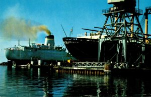 Mississippi Pascagoula Ships In For Repair