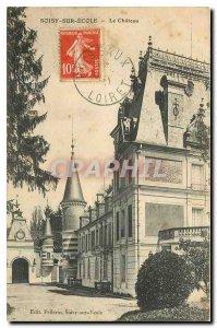 Old Postcard Soisy sous Etiolles Le Chateau
