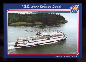 FE3192 - Canadian Ferry - Queen of Vancouver , built 1962 - postcard