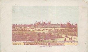 Centennial International Exhibition 1876 Victorian Trade Card Main Building
