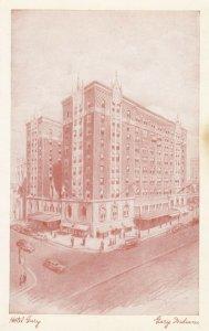 GARY , Indiana, 40-60s ; Hotel Gary