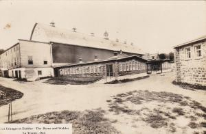 RP: LA TRAPPE, Quebec, Canada , 1910-20s ; Barns & Stables