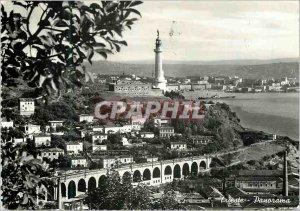 Postcard Modern Trieste Panorama
