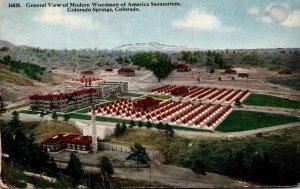Colorado Colorado Springs General View of Modern Woodmen Of America Sanatoriu...