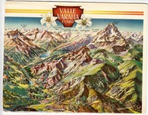 VALLE VARAITA, CUNEO, used Postcard