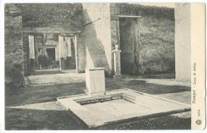 Italy, Pompei, Casa di Orfeo, early 1900s unused Postcard