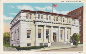 WINCHESTER, Kentucky, 1930-40s; Post Office