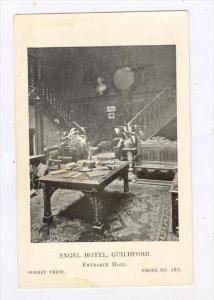 Angel Hotel (Interior), Entrance Hall, Guildford (Surrey), England, UK, 1910-...