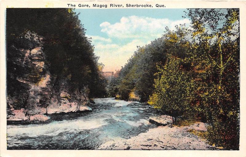B5537 The Gore Magog River Sherbrooke