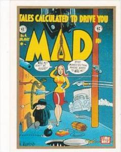 Lime Rock Trade Card Mad Magazine Cover Issue No 4 Apr-May 1953