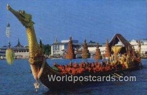 Supannahongse, Thai Royal State Barge Bangkok Thailand Unused