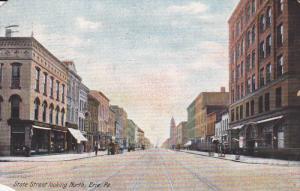 ERIE, Pennsylvania; State Street looking North, PU-1907