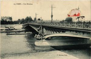 CPA Paris 15e Paris-Pont Mirabeau (311746)
