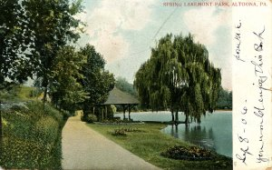 PA - Altoona. Spring Lakemont Park