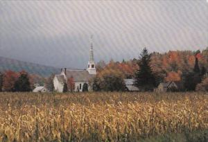 Vermont Waitsfield Church In The Mad River Valley