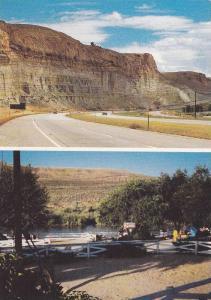 2-Views,  Tex's Travel Camp,  Green River,  Wyoming,  50-70s