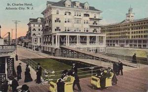 New Jersey Atlantic City St Charles Hotel 1913