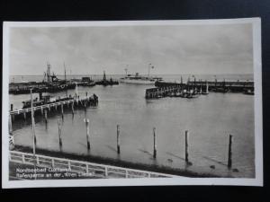 Germany: Nordseebad Cuxhaven Hafenpartie an der ALTEN LIEBE - Old RP Postcard