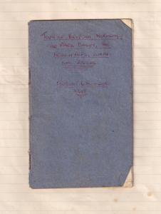 Southern Railway Train Food 1948 Frederick Hotels Receipt & Travel Book