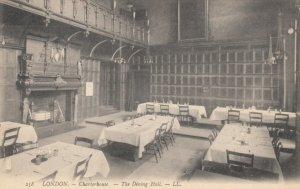 LONDON , UK, 1900-10s ; Charterhouse - The Dining Hall